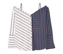 Bluse mit streifenmuster