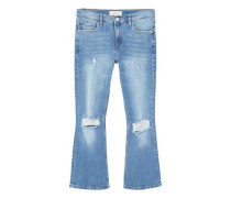 Flare jeans trumpet
