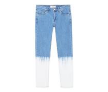 Skinny jeans tie-dye
