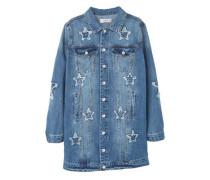 Jeansjacke In Mittlerer Waschung