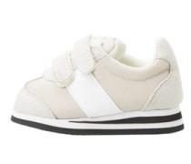Sneaker Mit Kontrasteinsätzen