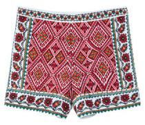 Bestickte Baumwoll-Shorts