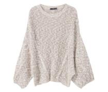Oversized pullover aus baumwolle