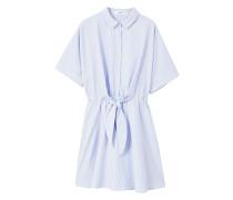 Hemdkleid mit gürtel