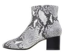 Ankle Boots Im Schlangen-Look