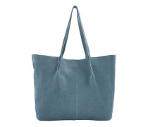 Shopper-bag aus leder