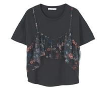 Doppellagiges Baumwoll-T-Shirt
