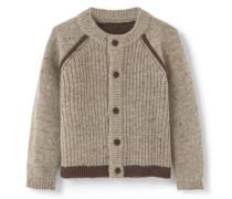 Kombinierter Woll-Cardigan