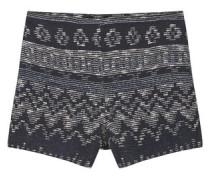 Strukturierte Baumwoll-Shorts