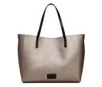 Genarbte shopper-bag