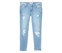 Slim jeans mit rissen