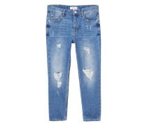 Relaxed fit girlfriend jeans