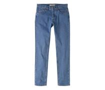 Straight Fit Jeans Brett Mit Mittlerer Waschung