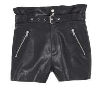 Shorts Mit Gürtel Und Reißverschlüssen
