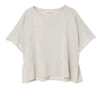 T-Shirt Mit Metallic-Garn