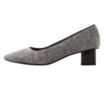 Schuh mit glitzer-effekt
