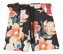 Shorts mit verstellbarem kordelzug