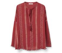 Bedruckte Boho-Bluse