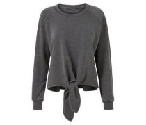 Baumwoll-Sweatshirt Mit Knoten