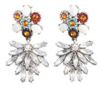 Ohrhänger Mit Perlenverzierter Blume