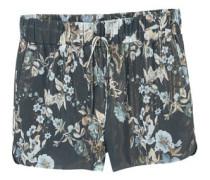 Shorts Mit Blumenaufdruck