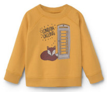 Baumwoll-Sweatshirt Mit Cartoon