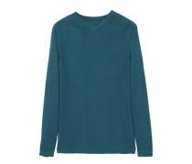 Pullover mit strukturierten einsätzen