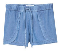 Jeansshorts in heller waschung