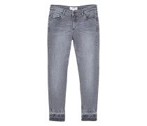 Slim jeans im used-look