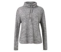 Meliertes Baumwoll-Sweatshirt