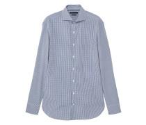 Kariertes slim fit tailored-hemd