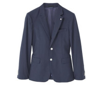 Slim Fit Blazer Aus Woll-Mix