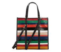 Shopper-tasche mit streifen