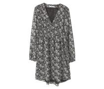 s oliver damen blusenshirt mit blumen print schwarz reduziert. Black Bedroom Furniture Sets. Home Design Ideas