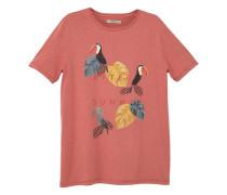 T-shirt mit vogelprint