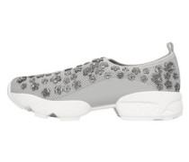 Sneakers Mit Schmuckstein