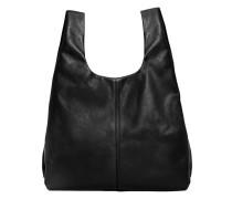 Shopper-bag aus leder