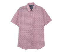 Bedrucktes slim fit hemd