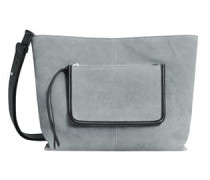 Ledertasche mit außentasche