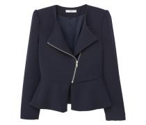 Blazer mit zip-details