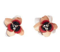 Ohrringe Mit Blumenmotiv