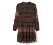 Bedrucktes, Ausgestelltes Kleid
