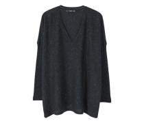 Pullover mit metallgarn
