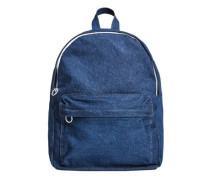 Jeans-rucksack mit fronttasche