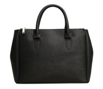 Shopper-tasche in saffiano-optik
