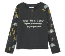 T-Shirt Mit Schriftaufdruck