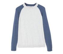 Baumwoll-pullover mit kaschmir