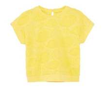 Strukturiertes Baumwoll-Shirt