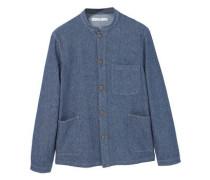 Jeans-overshirt, mittlere waschung