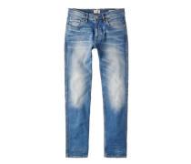 Slim fit jeans tim mittlere waschung